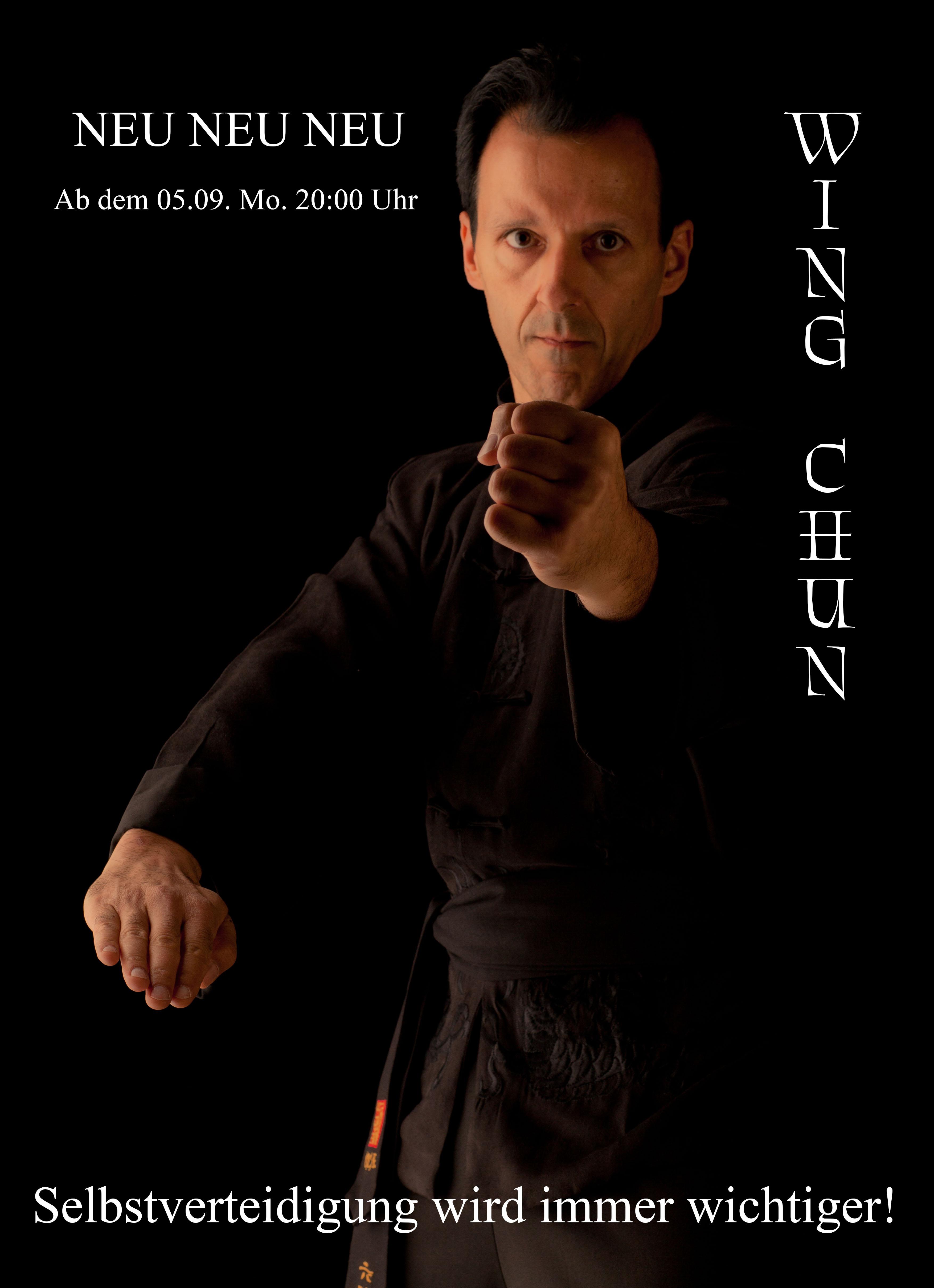 Neuer Wing Chun Kurs